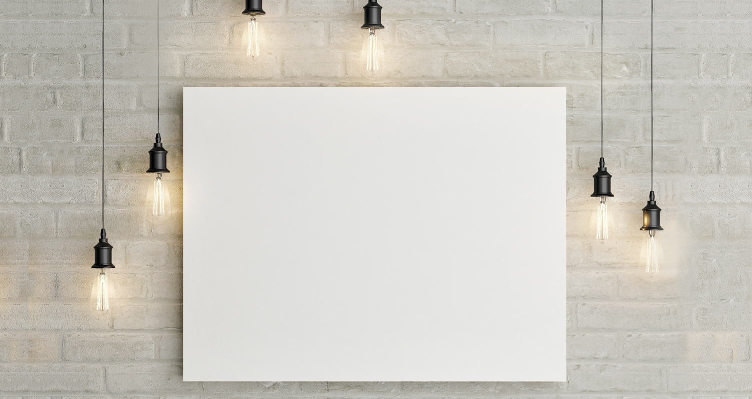 Fear of the blank canvas inspire begins with 39 i 39 for What to do with a canvas